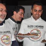 Vito Crimi, Andrea Cioffi, e  Luigi Di Maio