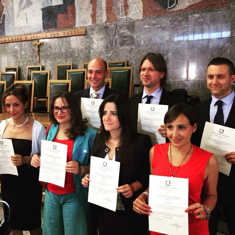 Consiglieri regionali M5S in Puglia
