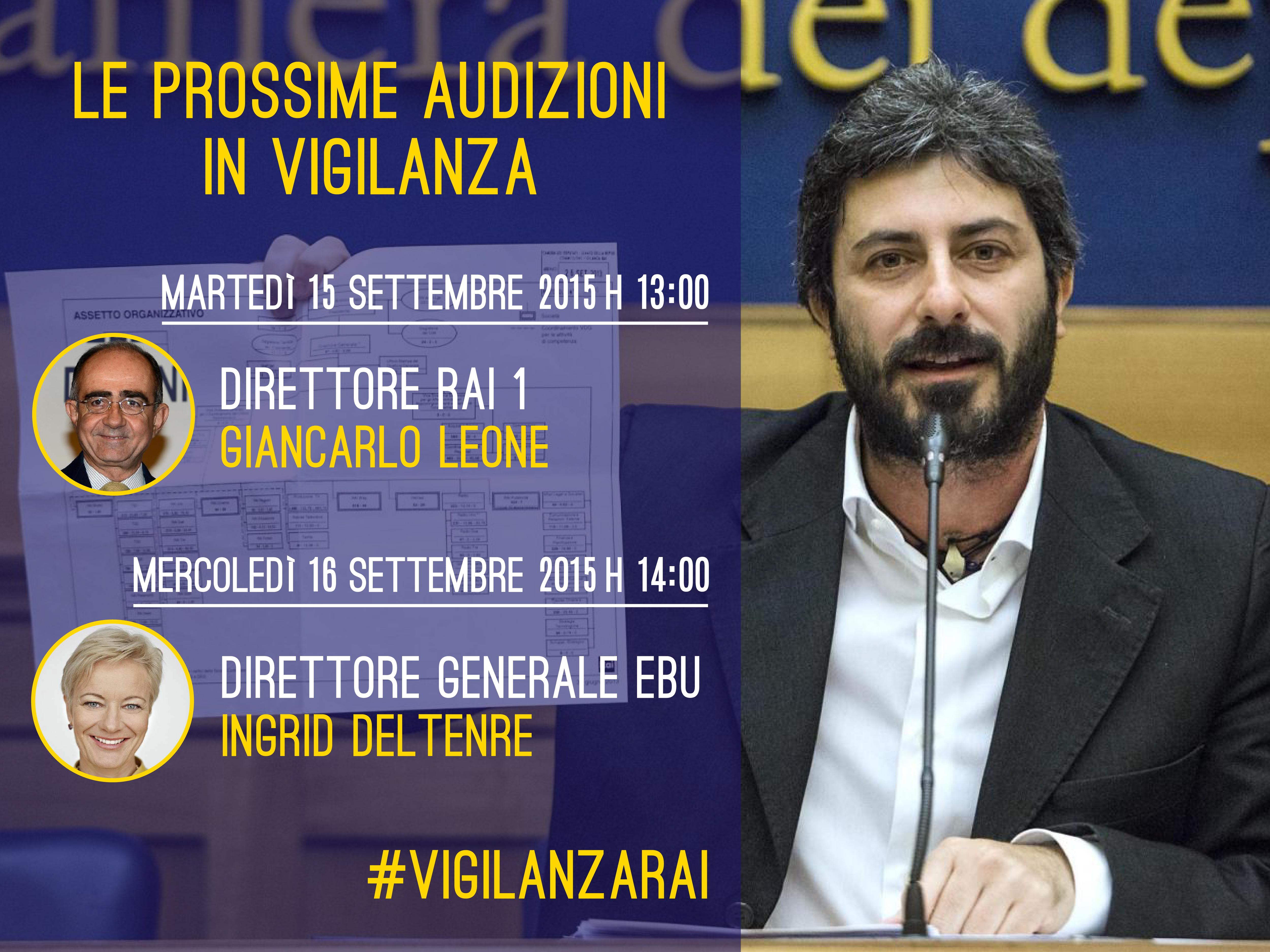 audizioni_settembre Vigilanza RAI 2015