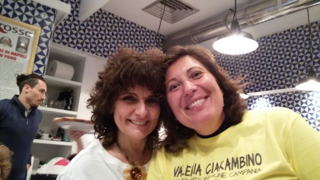 Paola Nugnes e Valeria Ciarambino