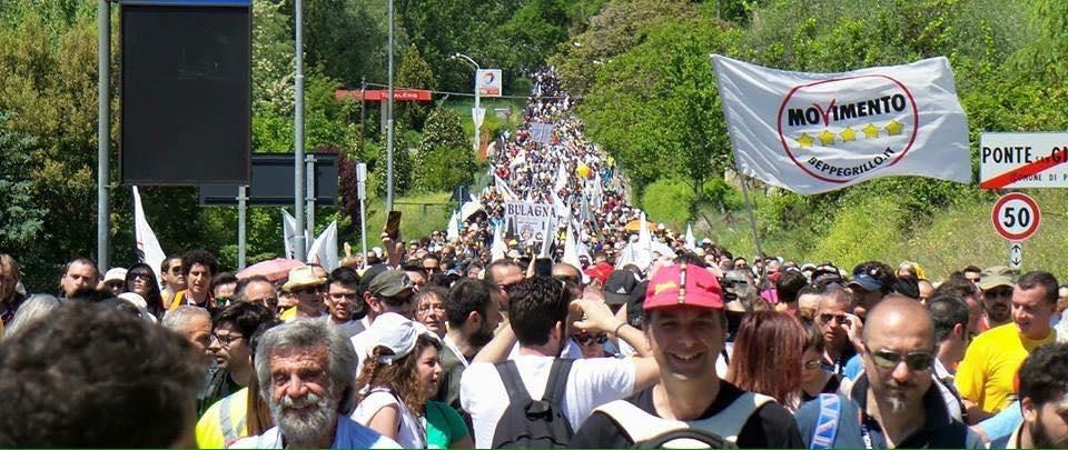 Marcia per il reddito di cittadinanza - Perugia Assisi