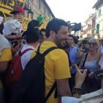 Marcia per il reddito di cittadinanza - Assisi - Roberto Fico