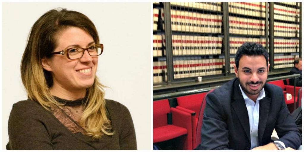 Francesca Businarolo e Giorgio Sorial, capo gruppo e vice capogruppo M5S alla Camera