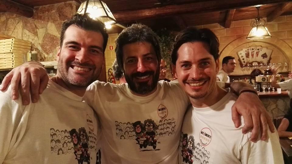 Riccardo Nuti Roberto Fico Giorgio Ciaccio