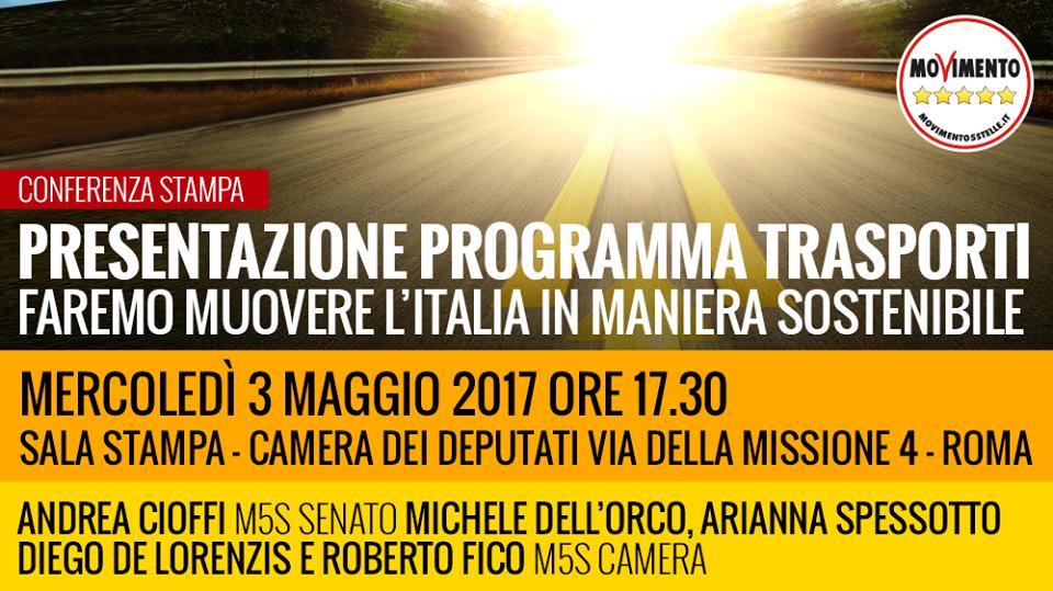 conferenza stampa presentazione programma trasporti