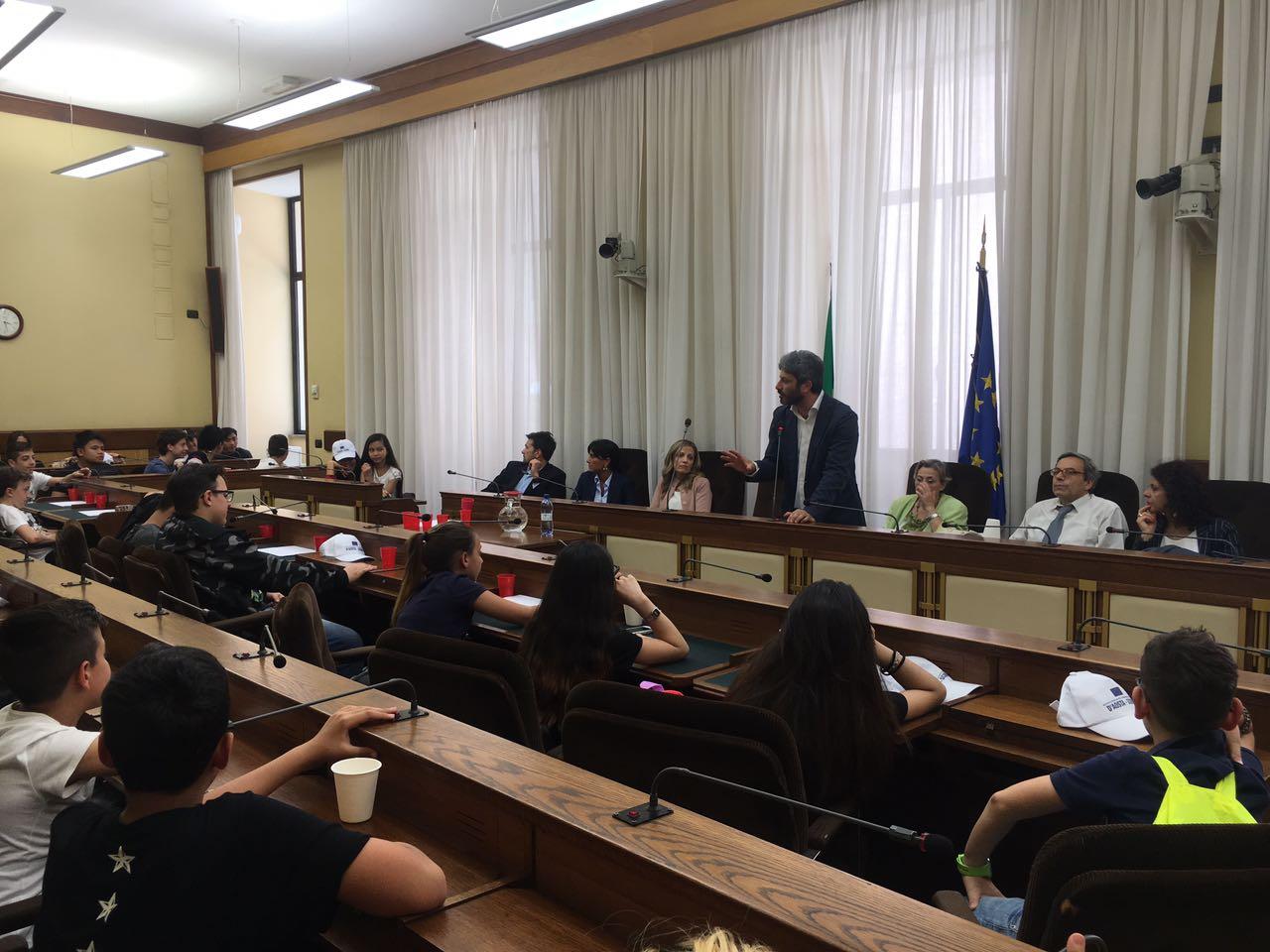 aula commissione di vigilanza