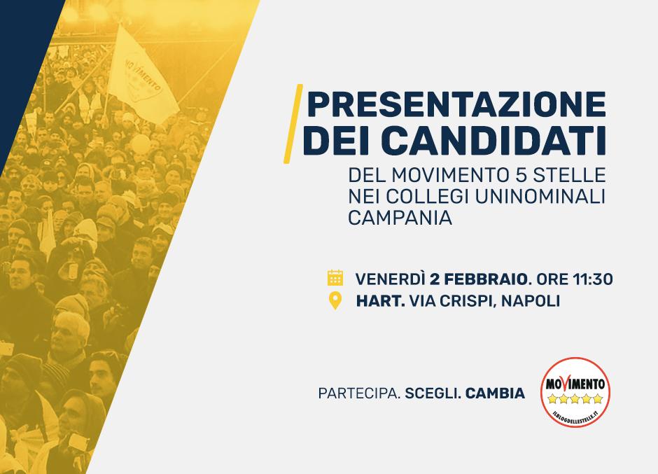 locandina presentazione candidati campania